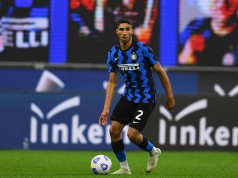 Inter Milan Announces Achraf Hakimi's COVID-19 Recovery