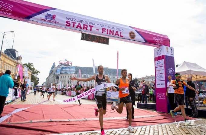 Moroccan Runners Break Course Record of International Sofia Marathon