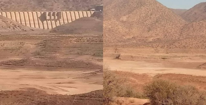 Abdelmoumen Dam: Key Reservoir Drying Up in Morocco's Souss Valley