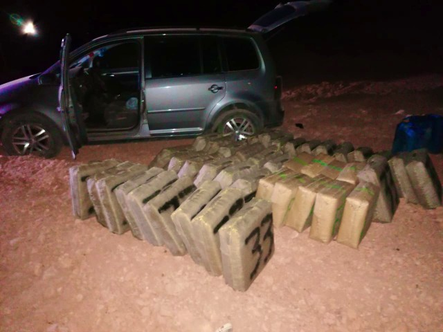 Police Seize 1 Tonne of Cannabis Resin in Eastern Morocco