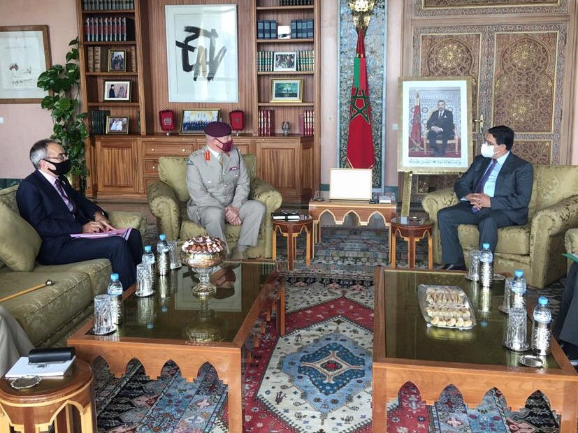 UK Senior Defense Advisor Visits Morocco to Boost Military Cooperation