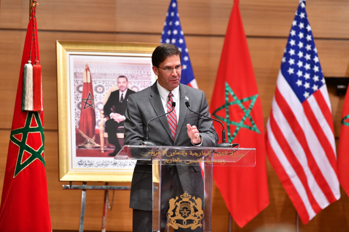 US, Morocco Vow to Bolster Ties, Security Cooperation