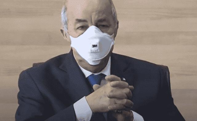 Algeria's President Tebboune in Germany For COVID-19 Treatment