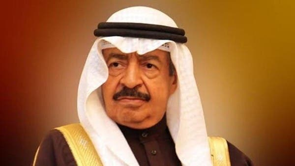 Bahrain's prime minister has died, the royal palace has said