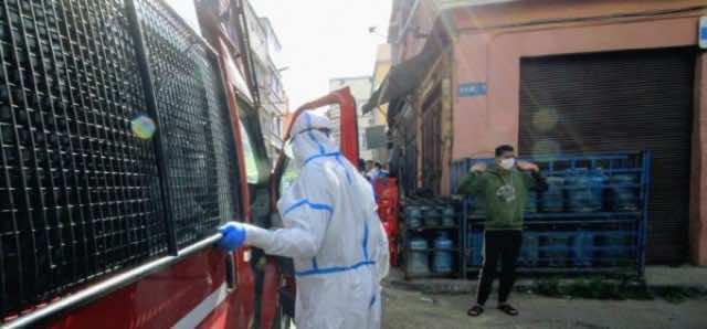COVID-19 cases in Morocco as of November 19