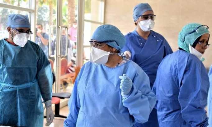COVID-19 cases in Morocco as of November 5