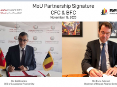 Casablanca Finance City and Belgium Center of Investement
