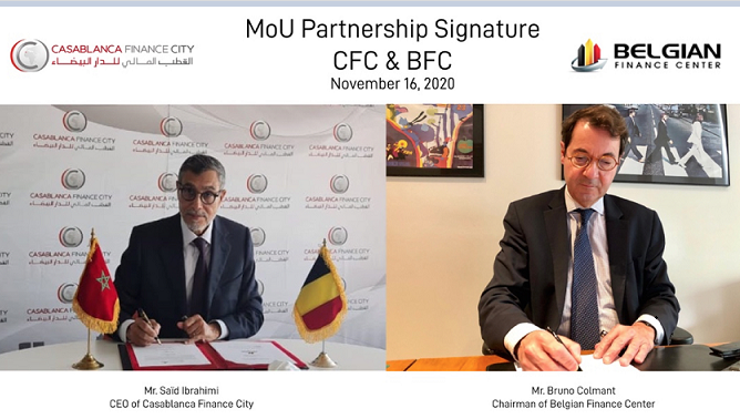 Casablanca Finance City and Belgium Center of Investement