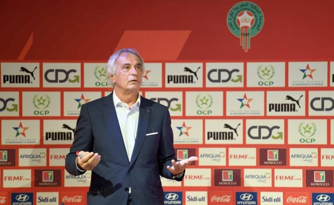 Atlas Lions Coach Announces Squad to Face Central African Republic
