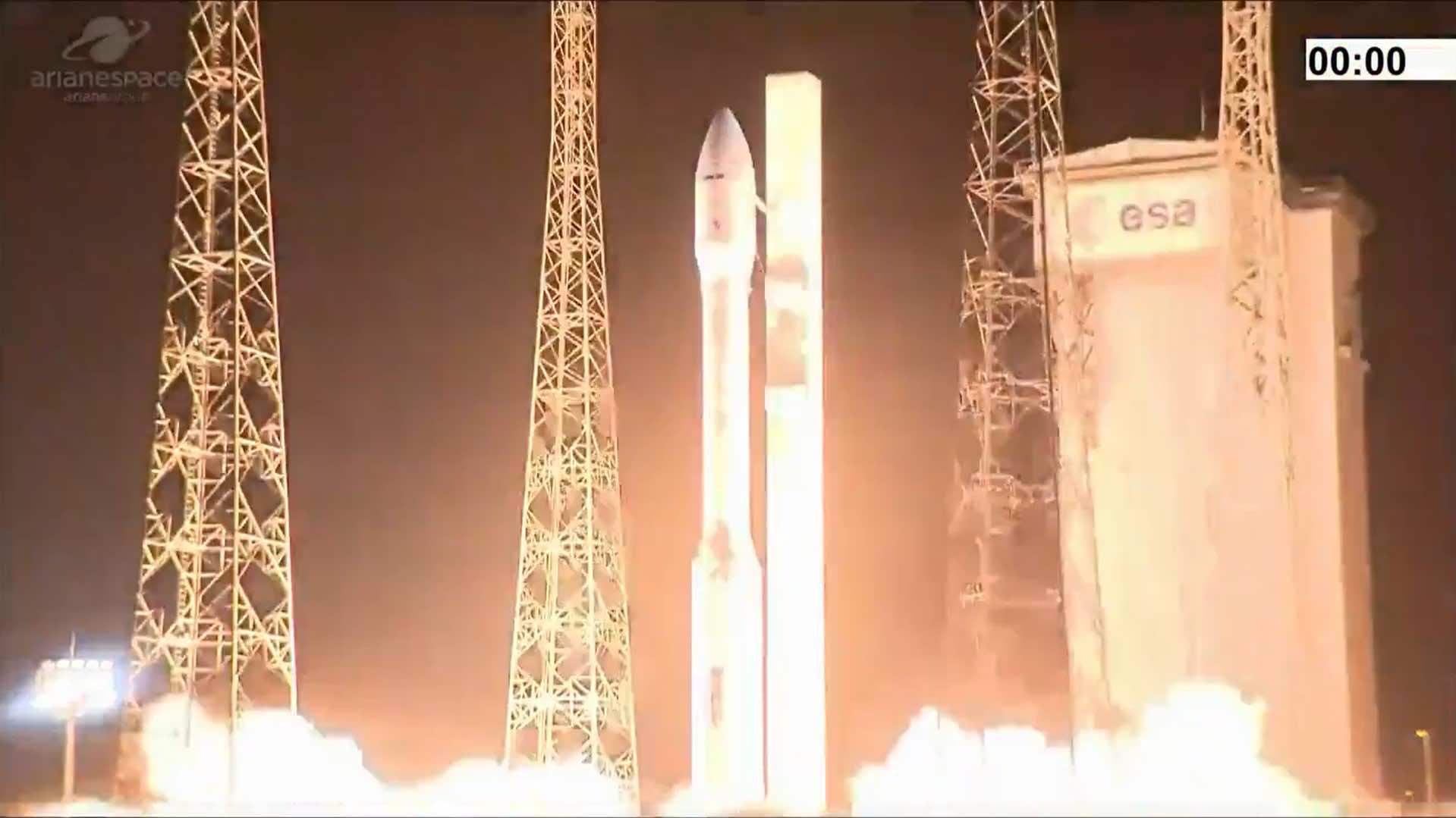 Second flight failure for European launcher Vega