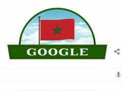 Google Search Engine Doodle Celebrates Morocco's Independence Day