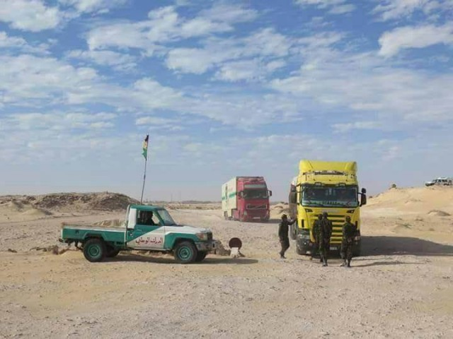 Blocked by Polisario, 200 Moroccan Truck Drivers in Guerguerat Cry for Help