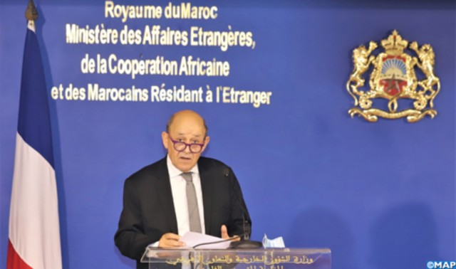 Le Drian: France Concerned With Polisario's Blockade in Guerguerat