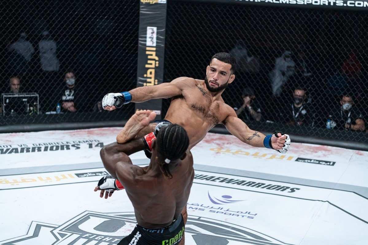 Moroccan MMA Fighter Jaafar Alaoui Wins 14th UAE Warriors