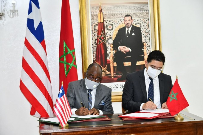 Morocco, Liberia Sign 3 Agreements to Boost Bilateral Cooperation