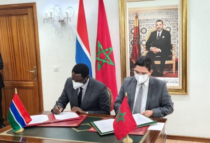 Morocco, The Gambia Sign 2 Agreements on Health, Diplomatic Training