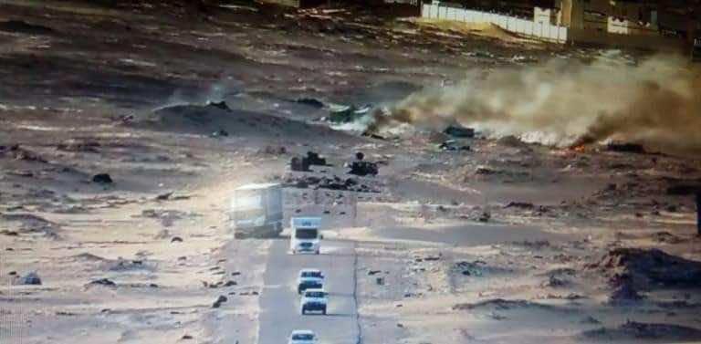 Timeline of Polisario's November 13 Escalation in Guerguerat