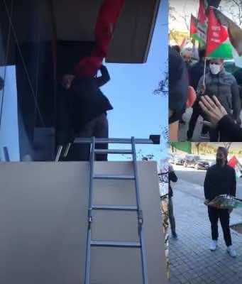Polisario Supporters Storm Moroccan Consulate General in Valencia