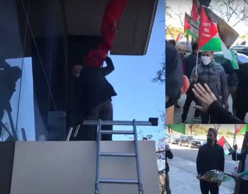 Polisario Supporters Storm Moroccan Consulate General in Valencia