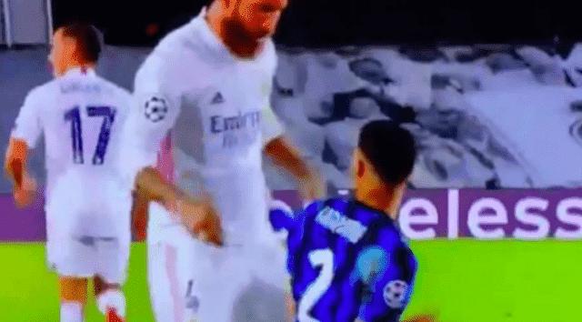 Sergio Ramos Insults Moroccan International Footballer Achraf Hakimi