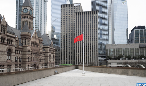 Toronto Raises Moroccan Flag to Commemorate Independence Day