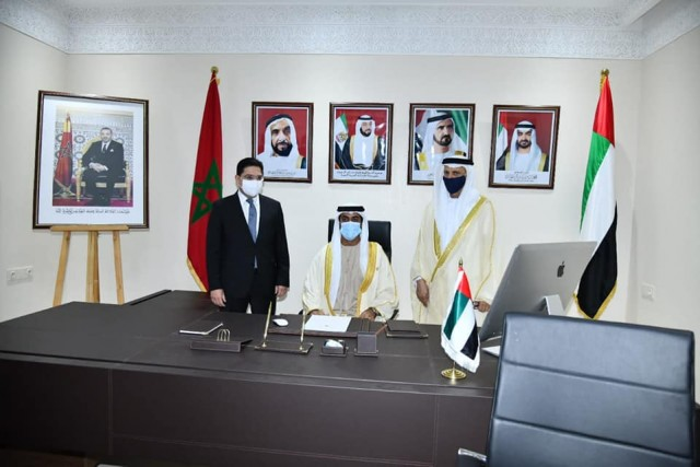 UAE Officially Opens Consulate General in Morocco's Laayoune