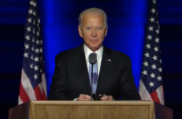 Joe Biden Declares Victory For 'We The People' After Grueling Election