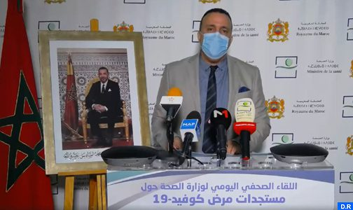 Morocco's Health Ministry: COVID-19 Contagion Indicator Remains Stable