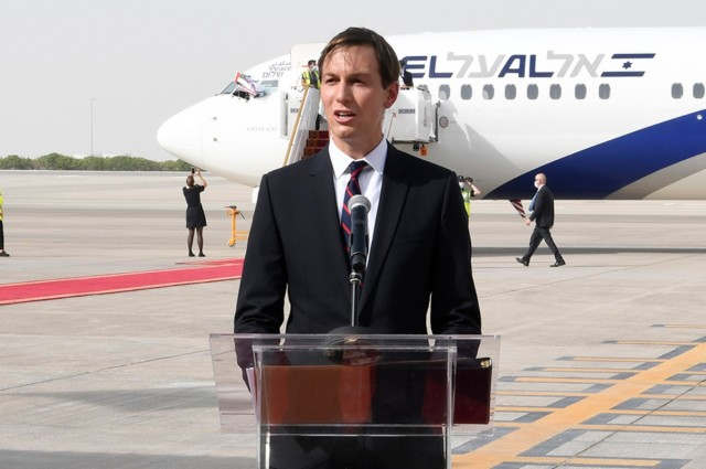 Jared Kushner to Take First Israel-Morocco Commercial Flight Next Week