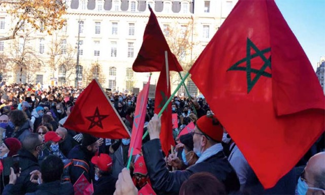 Moroccans in France Welcome US Recognition of Morocco's Territorial Integrity