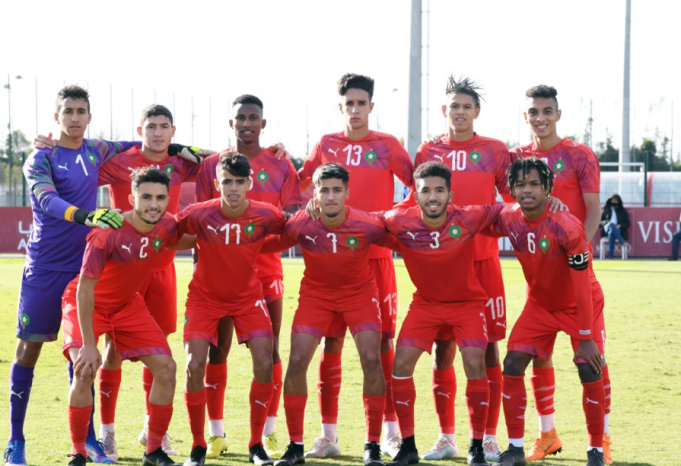 Morocco's Under-20 Atlas Lions Make Their Way to CAN U20.