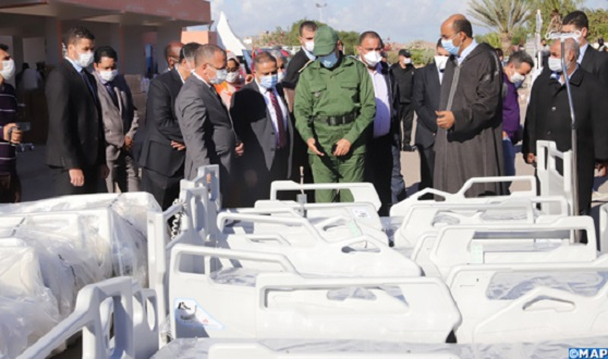 Morocco Sends $3.4 Million of COVID-19 Equipment to Hospital in Laayoune