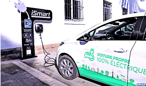Morocco Unveils 1st Moroccan-Made Electric Car Charging Station