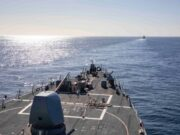 USS Porter Joins Moroccan Navy For 'Atlas Handshake' Exercises