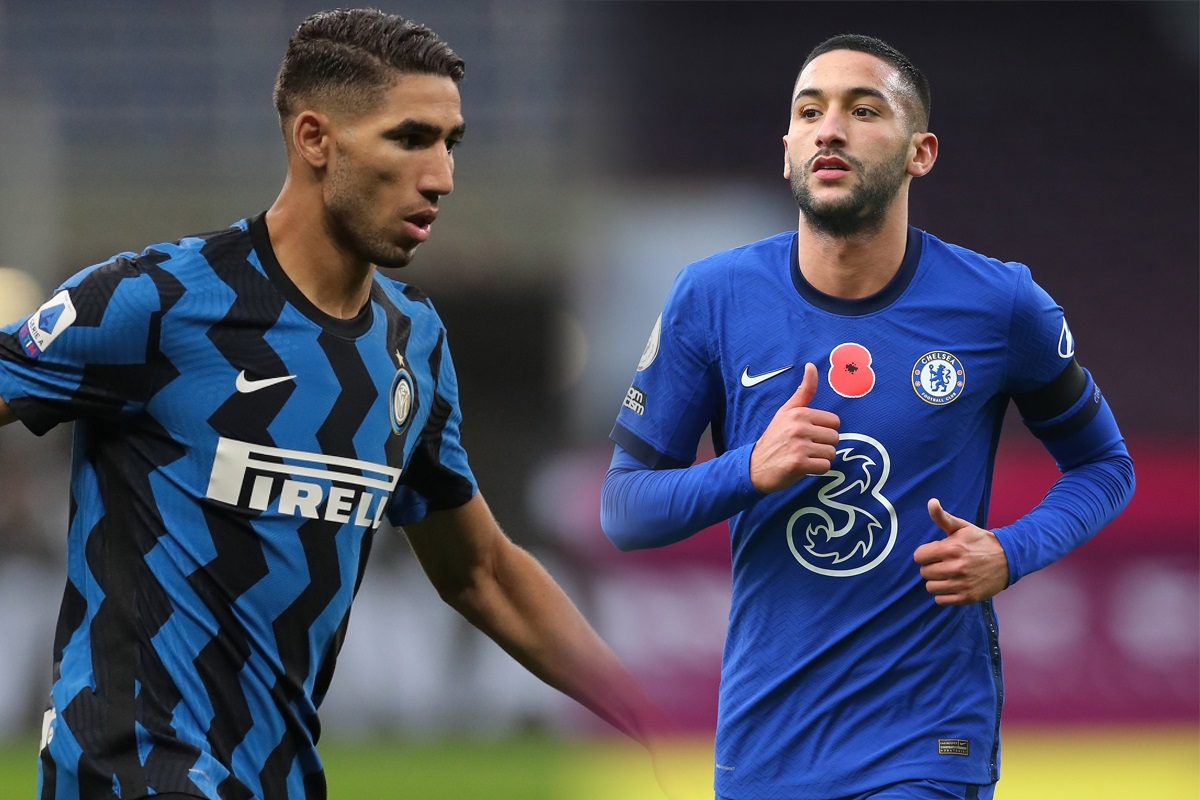 Achraf Hakimi, Hakim Ziyech Feature in 2020 African Team of the Year