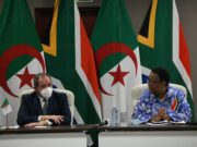 Algerian FM Flies to South Africa to Challenge Morocco's Integrity