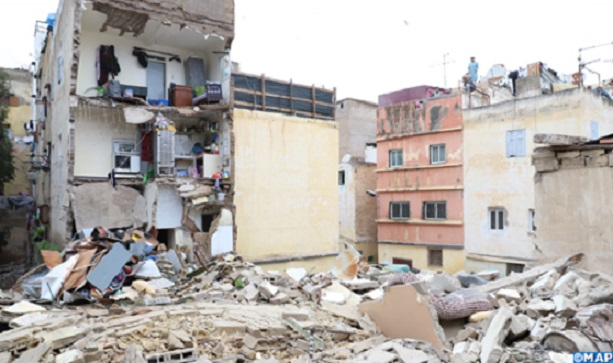 Another House Collapses in Morocco's Casablanca