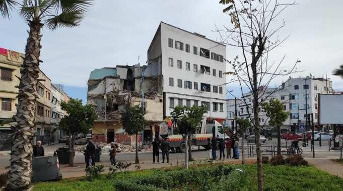 Authorities in Casablanca Begin Demolition of Ramshackle Buildings