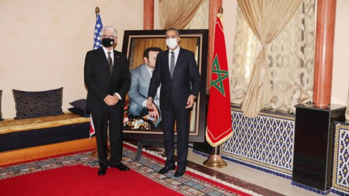 Departing US Ambassador Visits Head of Morocco's Security Services