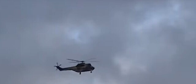 Gendarmerie Helicopter Rescues 5 Moroccan Shepherds Stranded by Floods