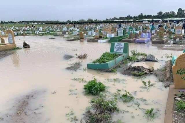 Heavy Rainfall Destroys Tombs in Casablanca Cemeteries