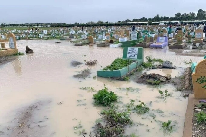 Heavy Rainfall Destroys Tombs in Casablanca Cemeteries