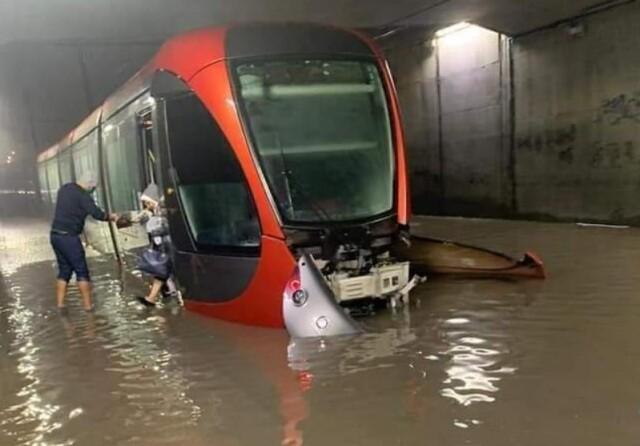 Heavy Rains Reveal Climate-Vulnerability of Casablanca Infrastructures