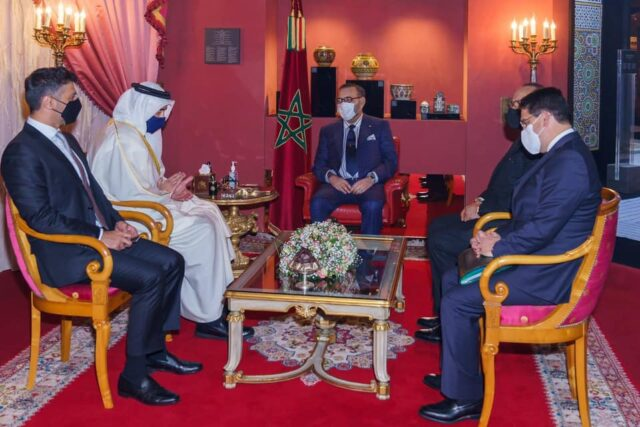 King Mohammed VI Receives UAE Foreign Minister in Fez
