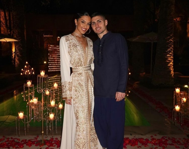 Marco Verratti Celebrates New Year, Proposes to Girlfriend in Marrakesh