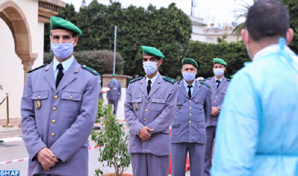 Morocco's Royal Armed Forces Members Receive First COVID-19 Vaccine Doses