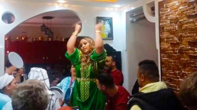 Police Arrest Moroccan Belly Dancer Chikha Trax During Her Wedding
