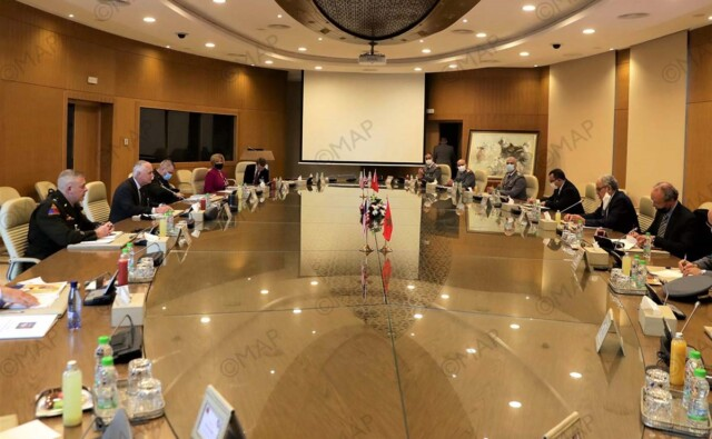Rabat Hosts 11th Morocco-US Defense Consultative Committee Session