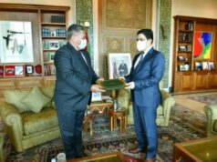 South Africa's New Ambassador Presents Credentials to Morocco's FM