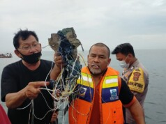 Indonesian Jetliner Crashes Into Java Sea After Takeoff